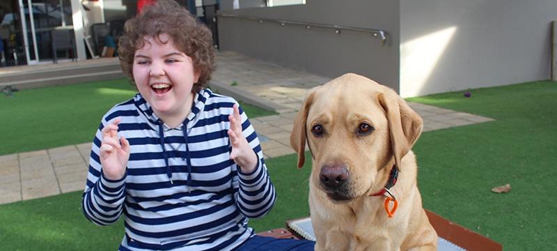 Companion Dog Jock with Maeve
