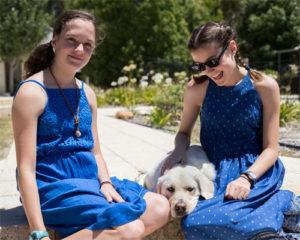 Companion Dog, Ellie with Caitlin & Bethany