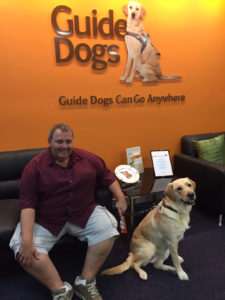 Gino, Guide Dogs Volunteer