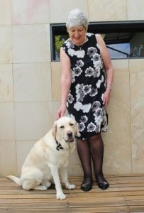 Guide Dogs Volunteer, Lin