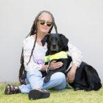 Wendy with Guide Dog Freya