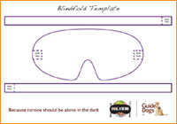 Download Blindfold template