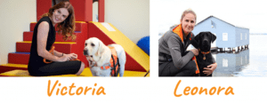 Autism Assistance Dog Trainer Victoria & Puppy Raising Coordinator Leonora